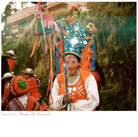 Carnival, from the series Other Stories, a project where I follow and document the path of a Yachaj. © KAREN MIRANDA-RIVADENEIRA
