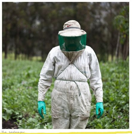 Beekeeper, from the series Other Stories, a project where I follow and document the path of a Yachaj. © KAREN MIRANDA-RIVADENEIRA