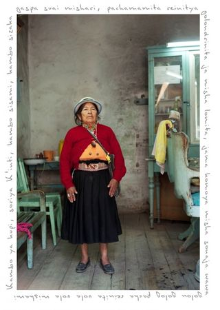 Urcu Urcu Mama Matilde, from the series Other Stories, a project where I follow and document the path of a Yachaj. © KAREN MIRANDA-RIVADENEIRA
