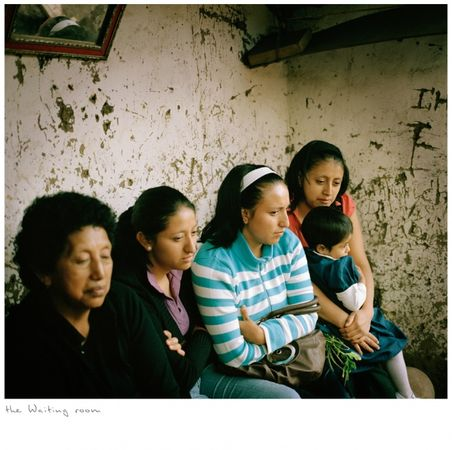 The waiting room, from the series Other Stories, a project where I follow and document the path of a Yachaj. © KAREN MIRANDA-RIVADENEIRA