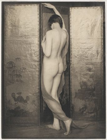 Margaret Watkins. Untitled (nude woman), 1924