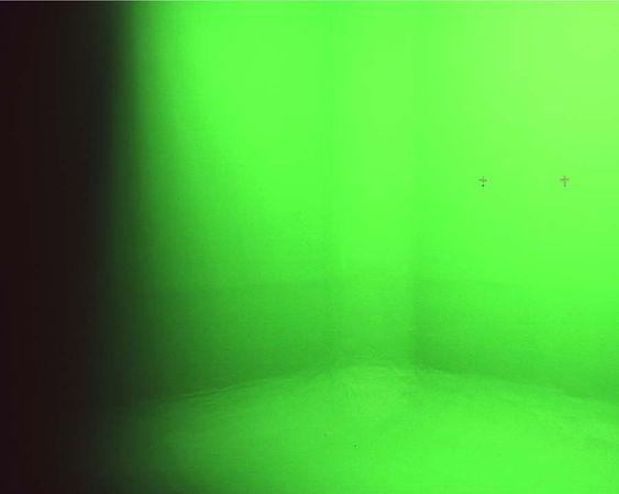 Landscapes, Fire in a Wooden Hall, 2012, 126x150 cm,digital c print © Marina Gadonneix