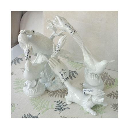 """Stilllife With 6 Hands, """"Meissen"""" series 2011. 60х60 см. Авторская пигментная печать на бумаге Fine Art. Тираж 2/5 + 2АР"""