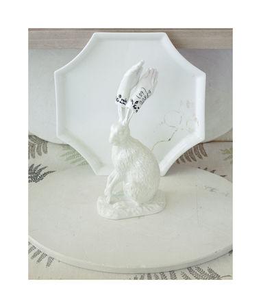 """Rabbit, """"Meissen"""" series 2011. 60x70 см. Авторская пигментная печать на бумаге Fine Art. Тираж 2/5 + 2АР"""