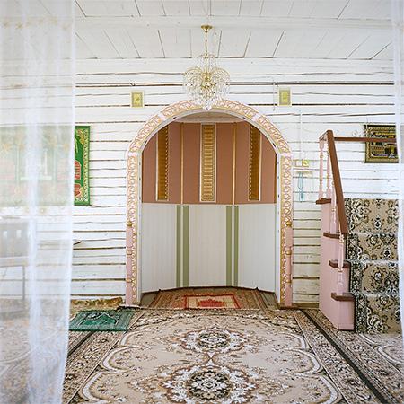 © Игорь Старков. Интерьер мечети, Рязанская область, Касимовский район, 2012 год.