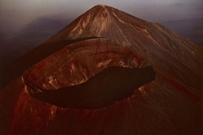 Hiroshi Hamaya. Peaks of Takachiho Volcano, Kagoshima and Miyazaki Prefectures, Japan, 1964