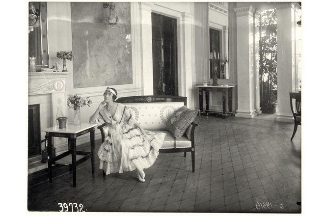 Актриса Вера Комиссаржевская в 1900 году. Фото: Карл Булла / Imagno / Austrain Archives, Вена