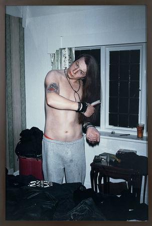© Gillian Wearing. Self Portrait as my Brother Richard Wearing. digital c-type print. 191 x 130.5 cm. 2003