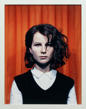 © Gillian Wearing. Self Portrait at 17 Years Old. c-type print. 115.5 x 92 cm. 2003