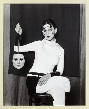 © Gillian Wearing. Me as Cahun Holding a Mask of My Face. framed bromide print. framed: 157.3 x 129 cm. 2012