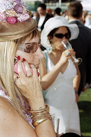 Мартин Парр. Объединенные Арабские Эмираты. Дубай. Международный турнир Cartier по поло 2007. Коллекция автора © Martin Parr / Magnum Photos