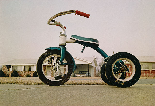 © Eggleston Artistic Trust/Gift of Caldecot Chubb. William Eggleston. American, Tennessee, Negative, about 1965 - 1968; Print, 1980. Dye transfer print, 11 7/8 x 17 7/16 in. 98.XM.232.1