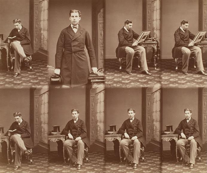 Duc de Coimbra. ca. 1860. André-Adolphe-Eugène Disdéri © George Eastman House Collections