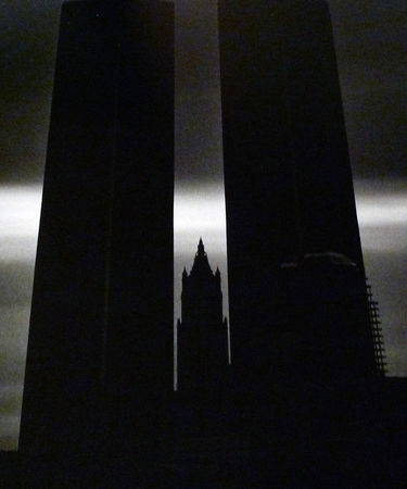 Twin Towers, 1985. © Sid Kaplan