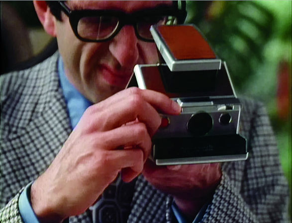 Still from SX-70, 35 mm color film with sound. (Charles and Ray Eames/Eames Office LLC)