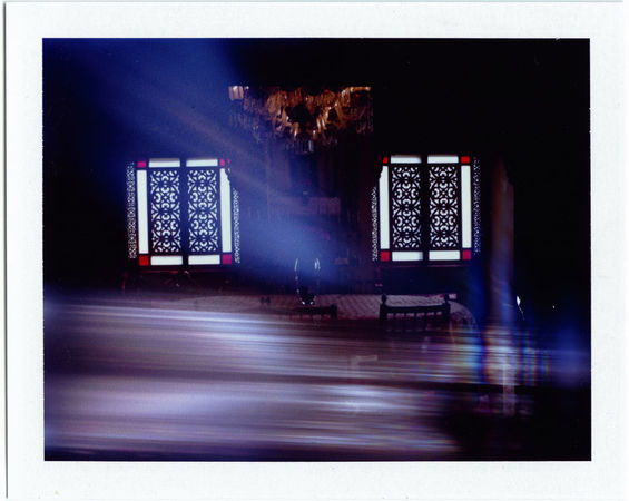 Untitled, Polaroid print. (Philip-Lorca diCorcia/Courtesy of David Zwirner)