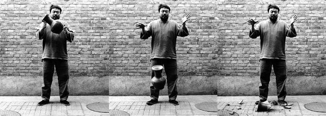Ai Wei Wei, Dropping a Han Dynasty Urn, 1995