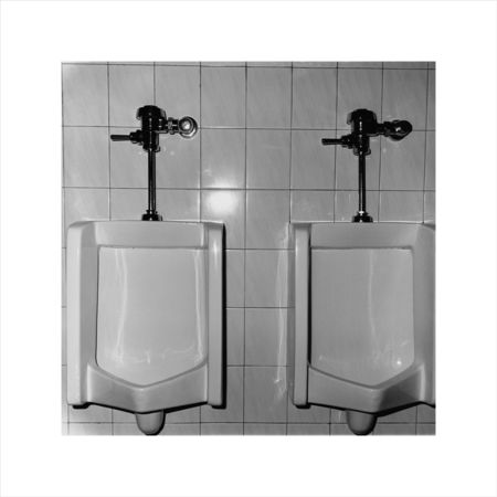 Zhao Liang, 1 + 1 Urinal 1, 1995, Gelatin silver print, 50.8 x 61 cm, Edition of 8