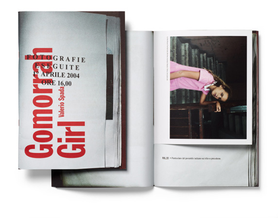 Valerio Sprada. Gomorra Girl. Cross Editions, 2011