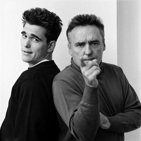 Dennis Hopper and Matt Dillon. Jeannette Montgomery Barron | Portraits from the 1980s