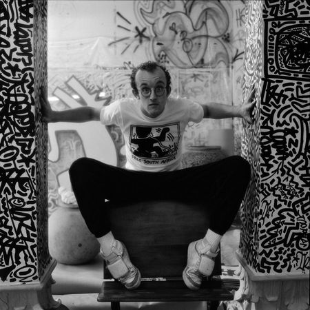 Keith Haring. Jeannette Montgomery Barron	 | Portraits from the 1980s