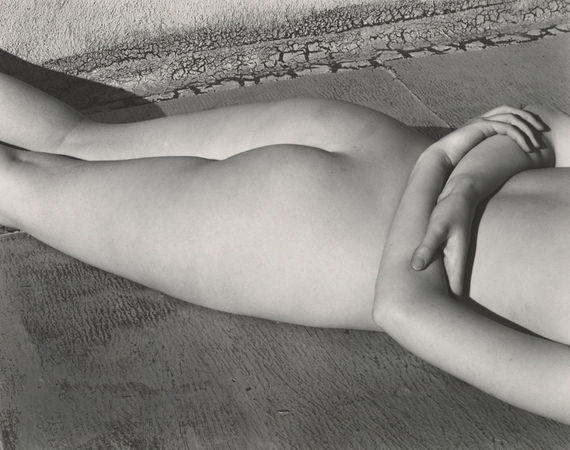Edward Weston, Nude, 1936. Collection Center for Creative Photography, The University of Arizona © 1981 Arizona Board of Regents
