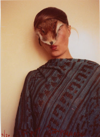 Ohne Titel (Selbst mit Fellchen) / Untitled (Self with Little Fur), 1974/77 Color photograph © Estate of Birgit Jürgenssen / VBK, Vienna, 2012 / SAMMLUNG VERBUND, Vienna