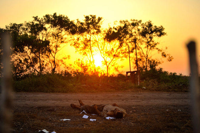Tus pasos se perdieron con el paisaje, 2011. © Fernando Brito