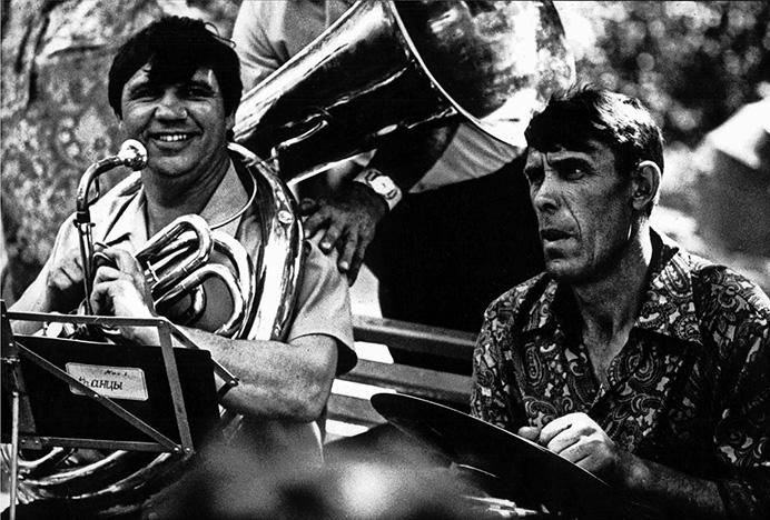 © Валерий Щеколдин. Пушкинский праздник поэзии. Поселок Языково, Ульяновская область, 1974