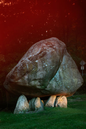Balancing Rock, 2009 © Joshua Lutz