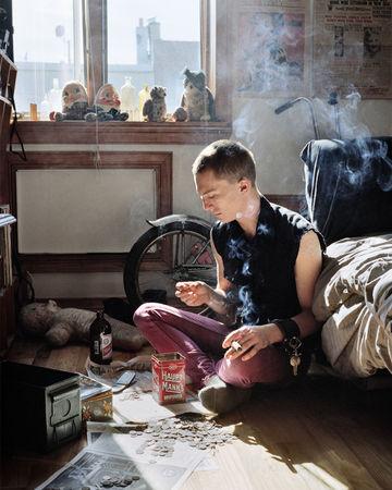 Sorting Change, 2009 © Jenny Riffle