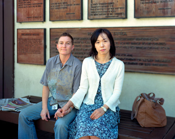 Kim and Yoshie, Los Angeles, Calif., 2007 © Richard Renaldi