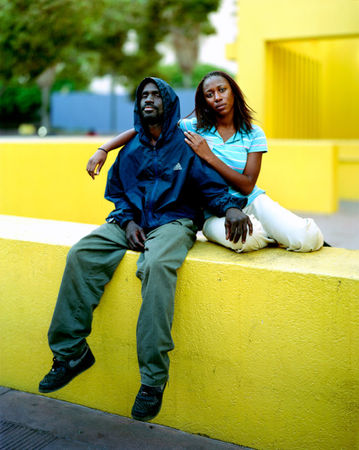 Reginald and Nicole, Los Angeles, Calif., 2007 © Richard Renaldi