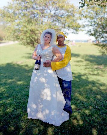 Julie and Xavier, Chicago, Ill., 2007 © Richard Renaldi
