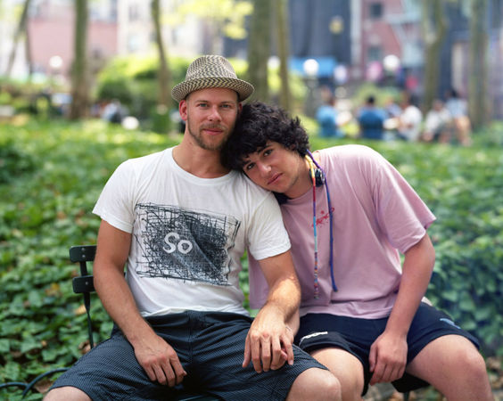 Felix and Thomas, New York, N.Y., 2010 © Richard Renaldi