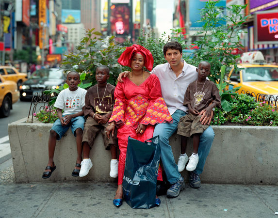 Cheikh, Alloun, Gracy, Terry and Pape, New York, N.Y. 2007 © Richard Renaldi