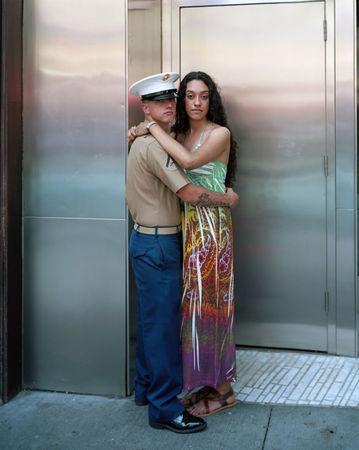 Michael and Kimberly, New York, N.Y., 2011 © Richard Renaldi
