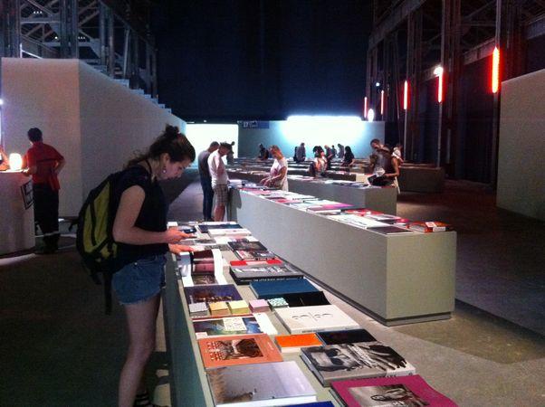 Выставка книг, присланных на ежегодную книжную премию Recontres d