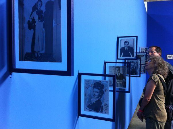 """""""A Fonds du Perdus"""", выставка рабочих материалов из архивов журналов 70х годов."""