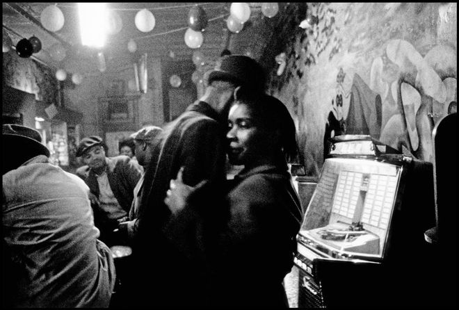 USA. Chicago. 1962. Blues bar in Chicago