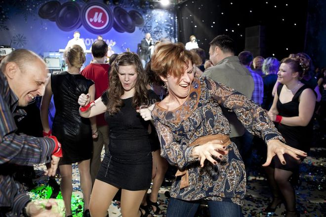 RUSSIA. Moscow. The M Video Christmas party. 2011. © Martin Parr/Magnum Photos