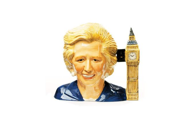 MARTIN PARR COLLECTION. Margaret Thatcher Teapot. 2010.