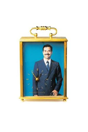 MARTIN PARR COLLECTION. Saddam Hussein clock. 2010