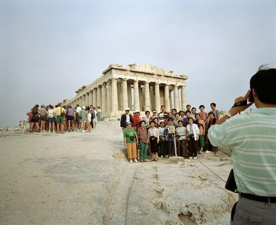 GREECE. Athens. Acropolis. 1991. © Martin Parr/Magnum Photos