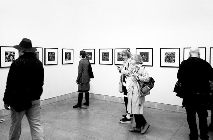 На выставке Николая Бахарева в Венеции