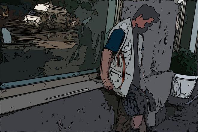 © Валерий Щеколдин. Опустошенный