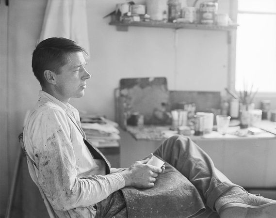 Richard Diebenkorn, 1956 (Rose Mandel/Collection of the Richard Diebenkorn Foundation)