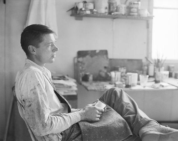 Richard Diebenkorn, 1956 (Rose Mandel/Collection of the Richard Diebenkorn Foundation)