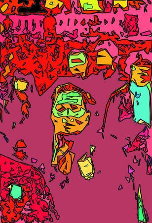 """© Валерий Щеколдин. Театральная площадь. Из цикла """"Призрак Победы"""""""