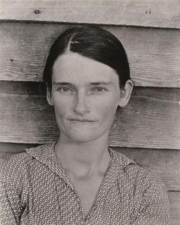 Alabama Cotton Tenant Farmer Wife. 1936. The Museum of Modern Art